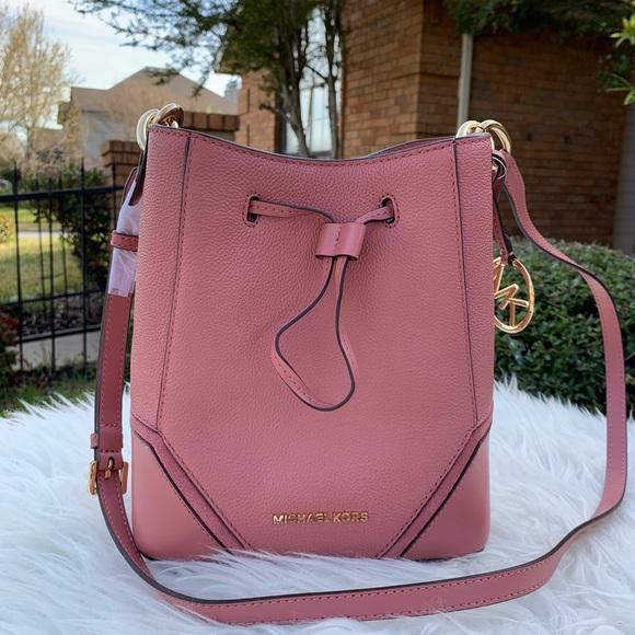 a72b22727338 MICHAEL Michael Kors Bags | Michael Kors Nicole Small Bucket Bag ...